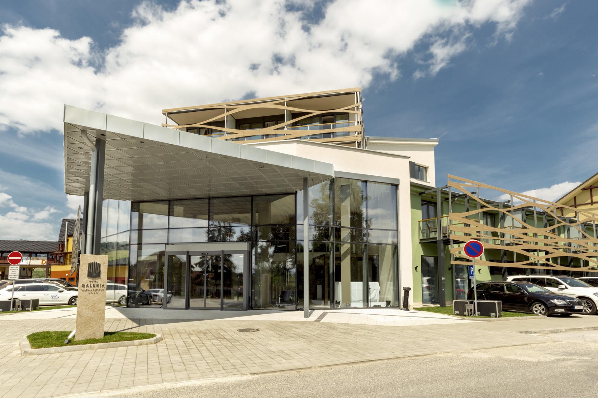 Bešeňová Hotel 01 vstup